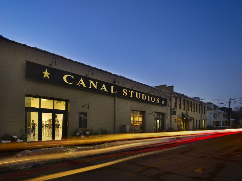 Canal Studios complex on North Union Street in Lambertville